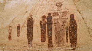 A véltnél ezer évvel fiatalabbak a Utah-állambeli sziklarajzok