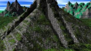 Sokk a most feltárt maja piramisban