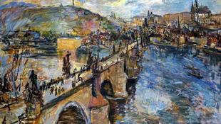 Prágába érkeznek a festészet mesterei