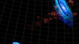 Intergalaktikus gázhídra bukkantak a közelünkben