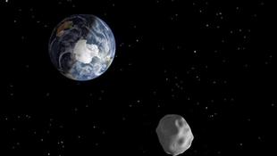Hatalmas kőóriás közelíti meg bolygónkat