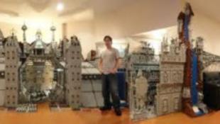 Lego-ból épült a város