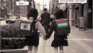 A japánok a mi matyómintánkkal villognak