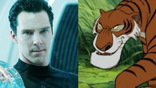 Tigrisként hallhatjuk a színészt