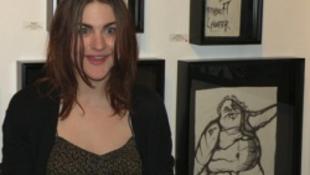 Kurt Cobain 18 éves lánya szenzációs festő lett