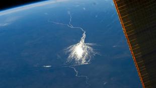 Űrfotón az Okavangó deltája
