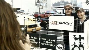 Hamis Banksy képekkel üzleteltek