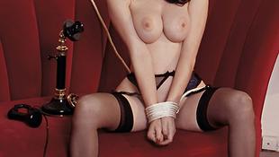 Manson perverz ex-nője újra levetkőzött a Playboynak