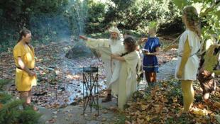 Nimfák ünnepe az Aquincumban