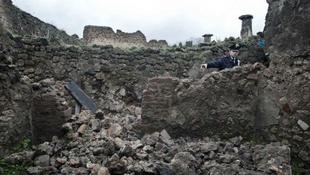 Újabb károk az ókori romvárosban