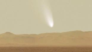 Mégsem ütközik a Marssal az üstökös