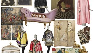 Aukción az olasz divattervező gyűjteménye
