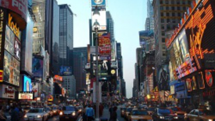 Marihuánát reklámoznak a Times Square-en
