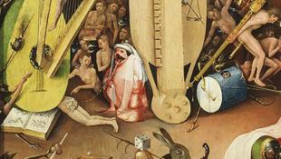 Rejtett kotta egy Bosch-festményen