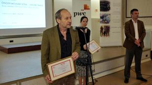 Kiosztották a Minőségi Újságírásért-díjakat