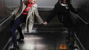 Leszakadt egy lift alja