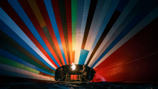 A hőlégballon, amely az NDK végét jelentette