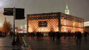 30 méteres utazóláda a Vörös téren