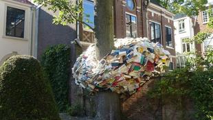 Könyvszobrok lepték el az utcákat