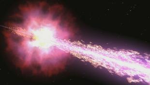 Különleges gammakitörést kaptak lencsevégre