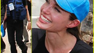 Veszélyes területre tévedt Angelina Jolie