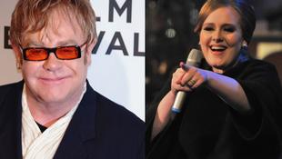 Adele nem mástól, mint Elton Johntól kér gyermeknevelési tanácsokat