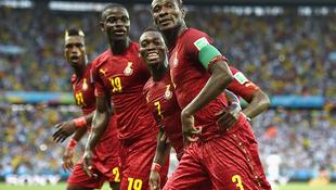 Ghána drámája a foci vb-n