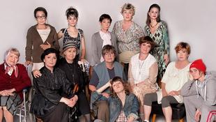 Ragasztó-parti a magyar színésznőkkel