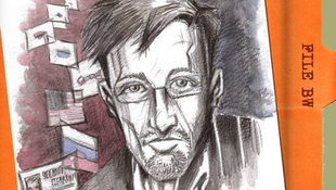 Edward Snowden képregényhős lett