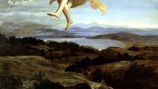 Meztelenül emelkedett a levegőbe a szent asszony