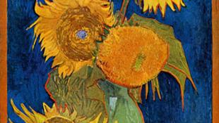 Van Gogh napraforgói új színben