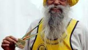 100 évesen futotta végig a maratont