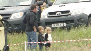 Angelina Jolie kislányával játszik egy filmben