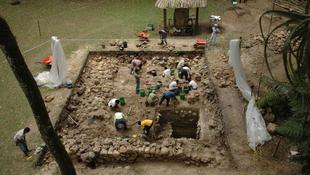 Rejtélyes maja épületeket találtak