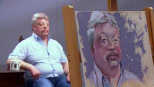 Veterán portré a galériában
