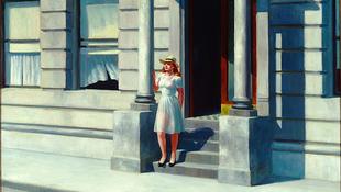 Hopper realista látványvilága a kortársak tükrében
