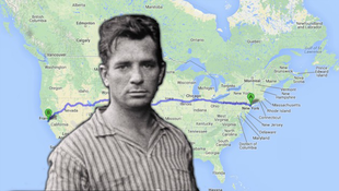 Kerouac a Google Maps útjain