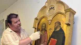 Plébánián rejtőzött az értékes kép