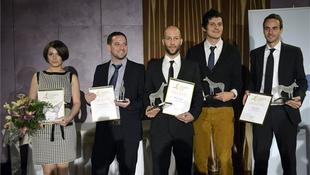 Kiosztották a Junior Prima-díjakat