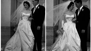 Több millióért kelt el az esküvői ruha