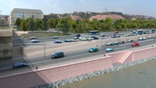A Margit híd budai hídfő nyert, a hivatal meg döntött