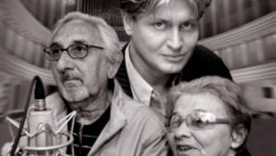 Törőcsik Mari, Garas Dezső, és Varnus Xavér a Művészetek Palotájában