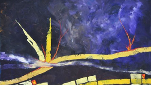 A művészetterapeuta kiállítással gyógyít