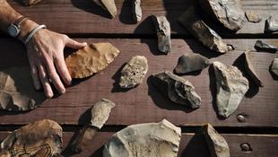 Döbbenetes felfedezés: jégkorszaki szerszámraktárra bukkantak!