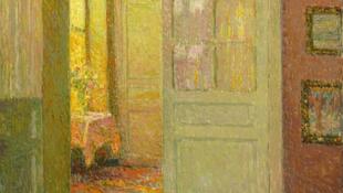 Tanteremben lógott a milliós festmény