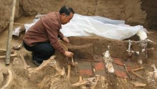 Itt temették el a kínai császár nagyanyját
