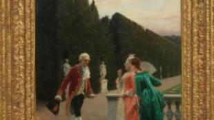 30 éve rejtőzködő festmény került elő