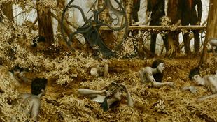 Arany alakok az erdőben