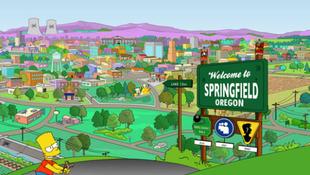 Falra festik a Simpson családot