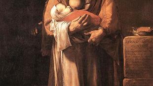 Csecsemőjével állt modellt a szakállas nő